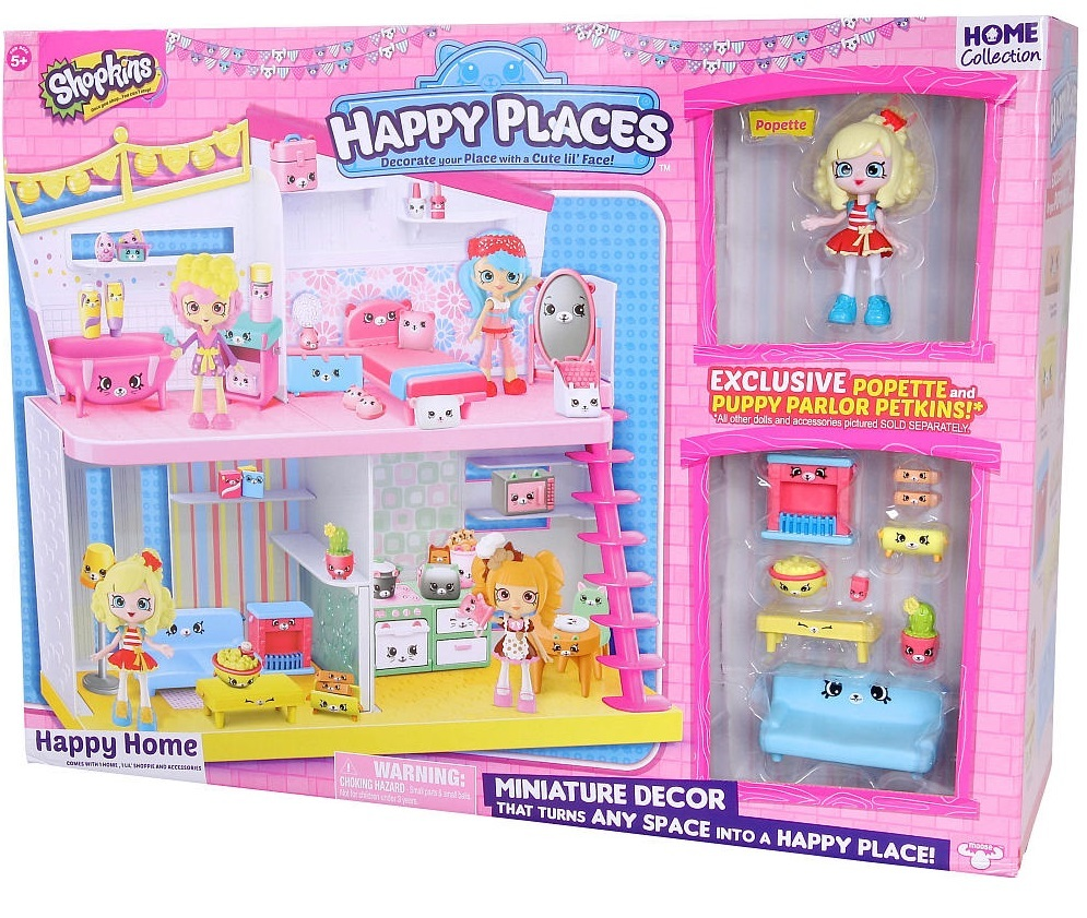 Shopkins Happy Places Happy Home Playset Toy At