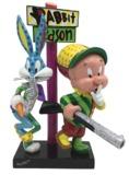 """Romero Britto - 8"""" Elmer Fudd & Bugs Bunny Figure"""
