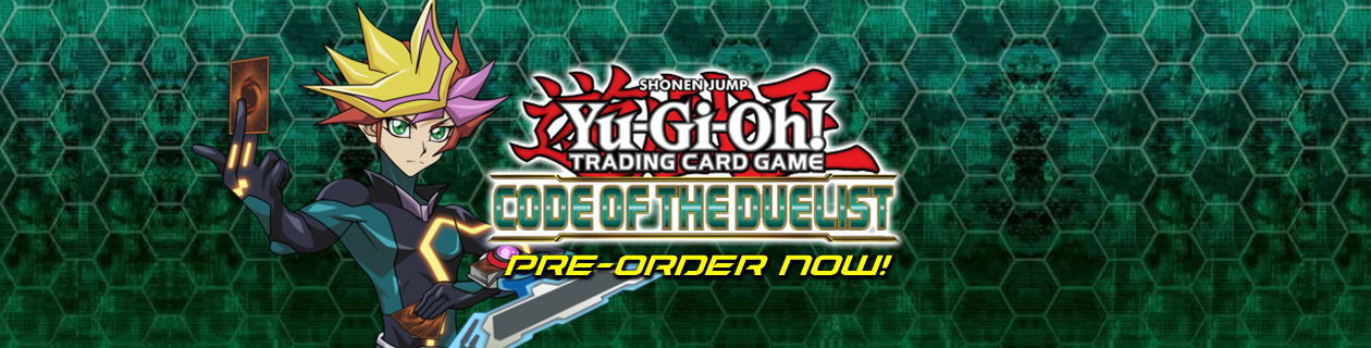 Pre-order the Yu-Gi-Oh! Code Of The Duelist Booster Box!