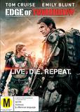 Edge of Tomorrow on DVD