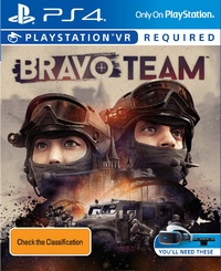 Bravo Team VR for PS4