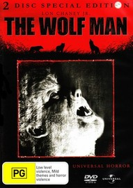 The Wolf Man -  Original (Special Edition, 2 Disc Set) on DVD image