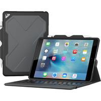 ZAGG Rugged Messenger Folio-Apple iPad Pro 10.5-Black Case-7 Color Backlit-Black-KB-US/UK English image