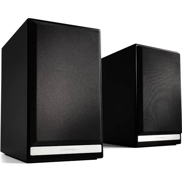Audioengine: HDP6 Passive Bookshelf Speakers (Pair) - Satin Black