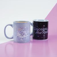 Unicorns Are Real Heat Change Mug