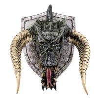 Dungeons & Dragons: Black Dragon - Trophy Plaque Replica