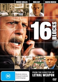 16 Blocks on DVD