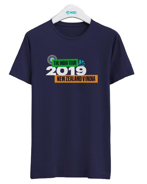 NZ Vs India 2019 Tour Tee (Small) image