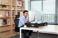 Gorilla Office: Workstation - Black (890 x 590mm) image