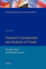 Pearson's Composition and Analysis of Foods image