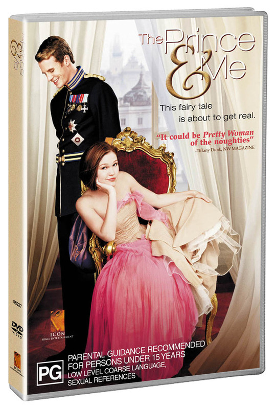 The Prince & Me on DVD