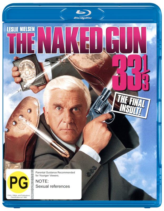 The Naked Gun 33 1/3 on Blu-ray