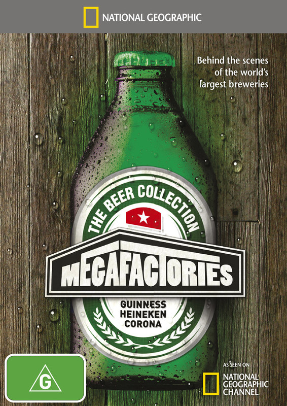 National Geographic: Megafactories - The Beer Collection on DVD