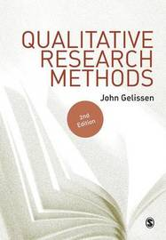 Qualitative Research Methods by John Gelissen
