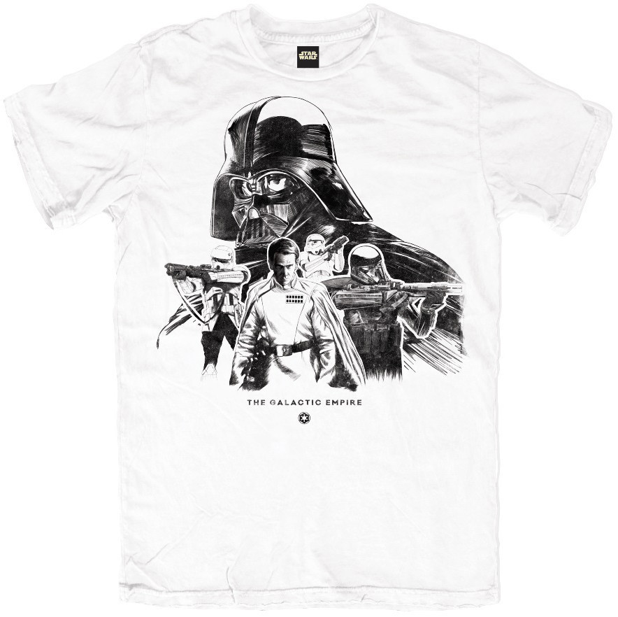 Star Wars Rogue One Galactic Empire T-Shirt (Small) image