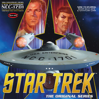 Polar Lights: 1/350 Star Trek TOS Enterprise 50th Anniversary Edition - Model Kit