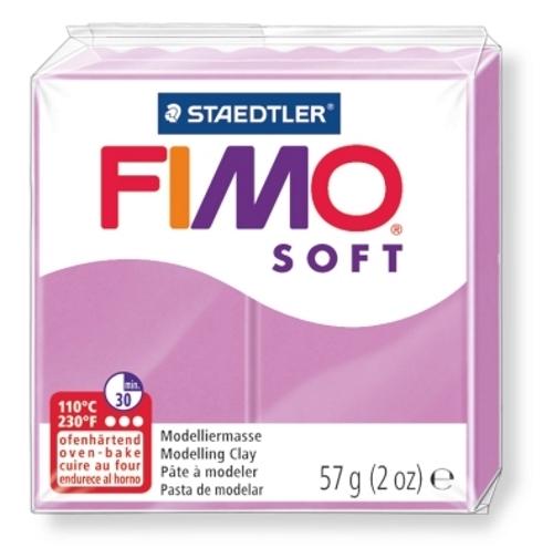 Staedtler Fimo Soft Modelling Clay Block - Lavendar (56g)