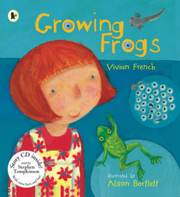 Growing Frogs by Vivian French image