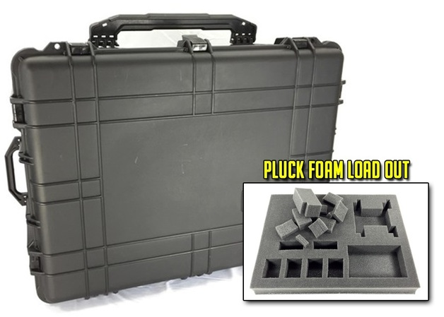Battle Foam: The Nimitz - Black Label Case (Pluck Foam Load Out)