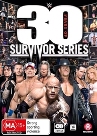WWE: 30 Years Of Survivor Series on DVD image