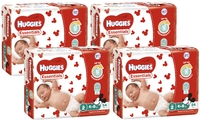 Huggies Essentials Nappies Bulk Shipper - Infant 4-8kg (216)