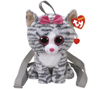 Ty Gear: Kiki Kitty - Plush Back Pack