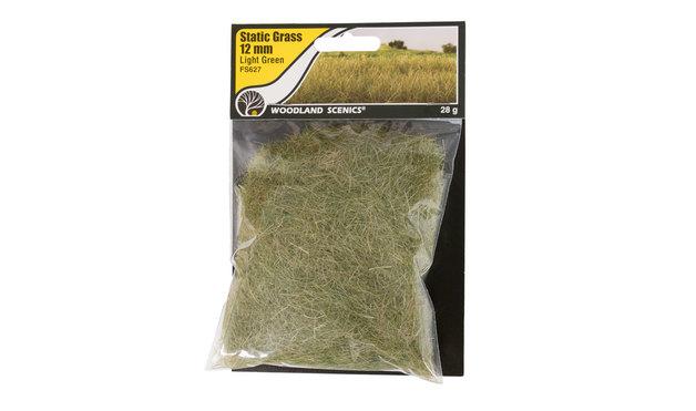 Woodland Scenics Static Grass Light Green 12mm