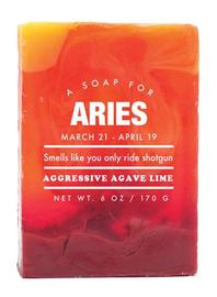 Whiskey River Co: Astrology Soap - Aries