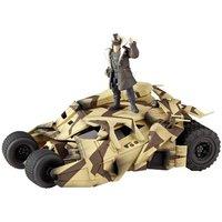 Batman Sci-Fi Revoltech Batmobile Tumbler with Cannon