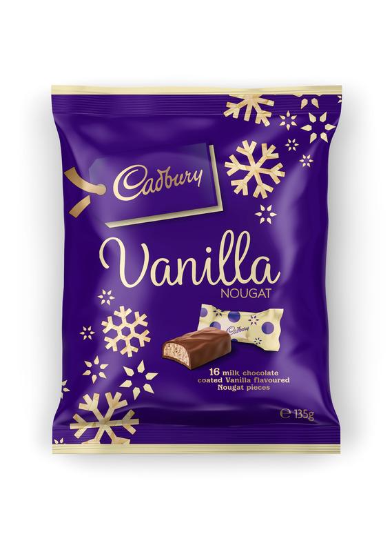 Cadbury Christmas Nougat Sharepack (135g)