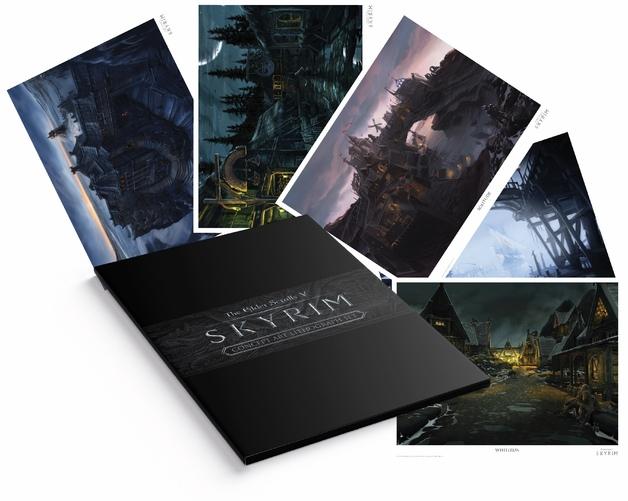 Elder Scrolls: Skyrim - Lithograph Set