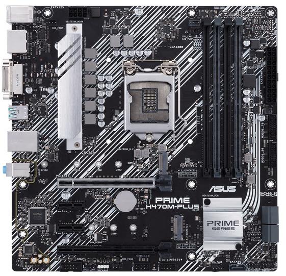 ASUS Prime H470M-PLUS mATX Motherboard