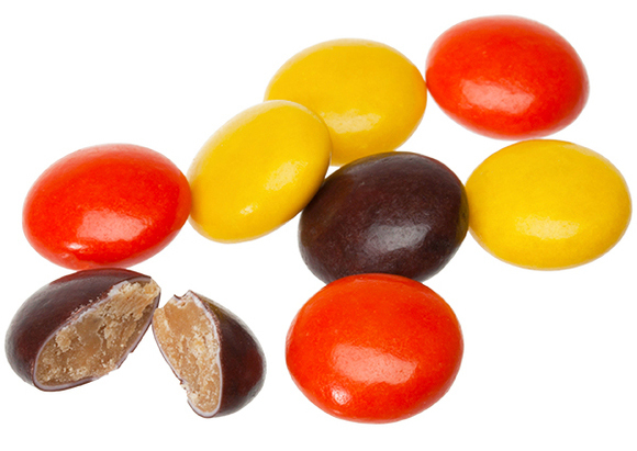 Reese's Pieces Peanut Butter Candy (170g) image