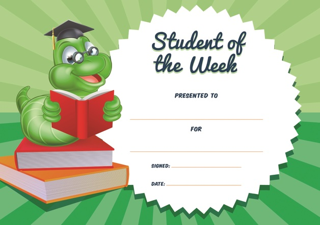 buy avery merit certificates student of the week pack of 36 at