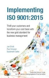 Implementing ISO 9001:2015 by Jan Gillett