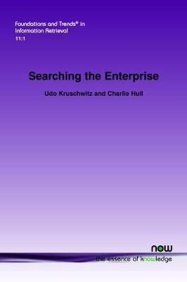 Searching the Enterprise by Udo Kruschwitz