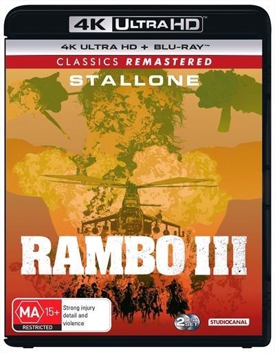 Rambo: First Blood Part III on UHD Blu-ray image