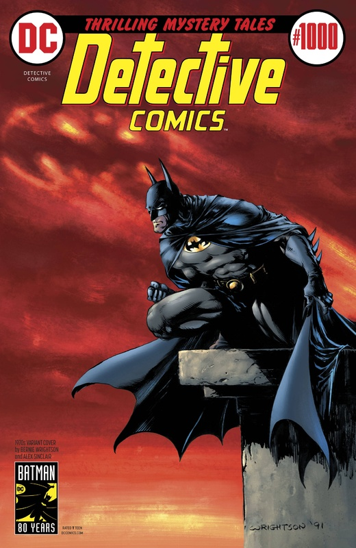 Batman: Detective Comics #1000 - (1970's Variant Edition) by Peter J Tomasi
