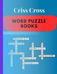 Criss Cross Word Puzzle Books by Samurel M Kardem