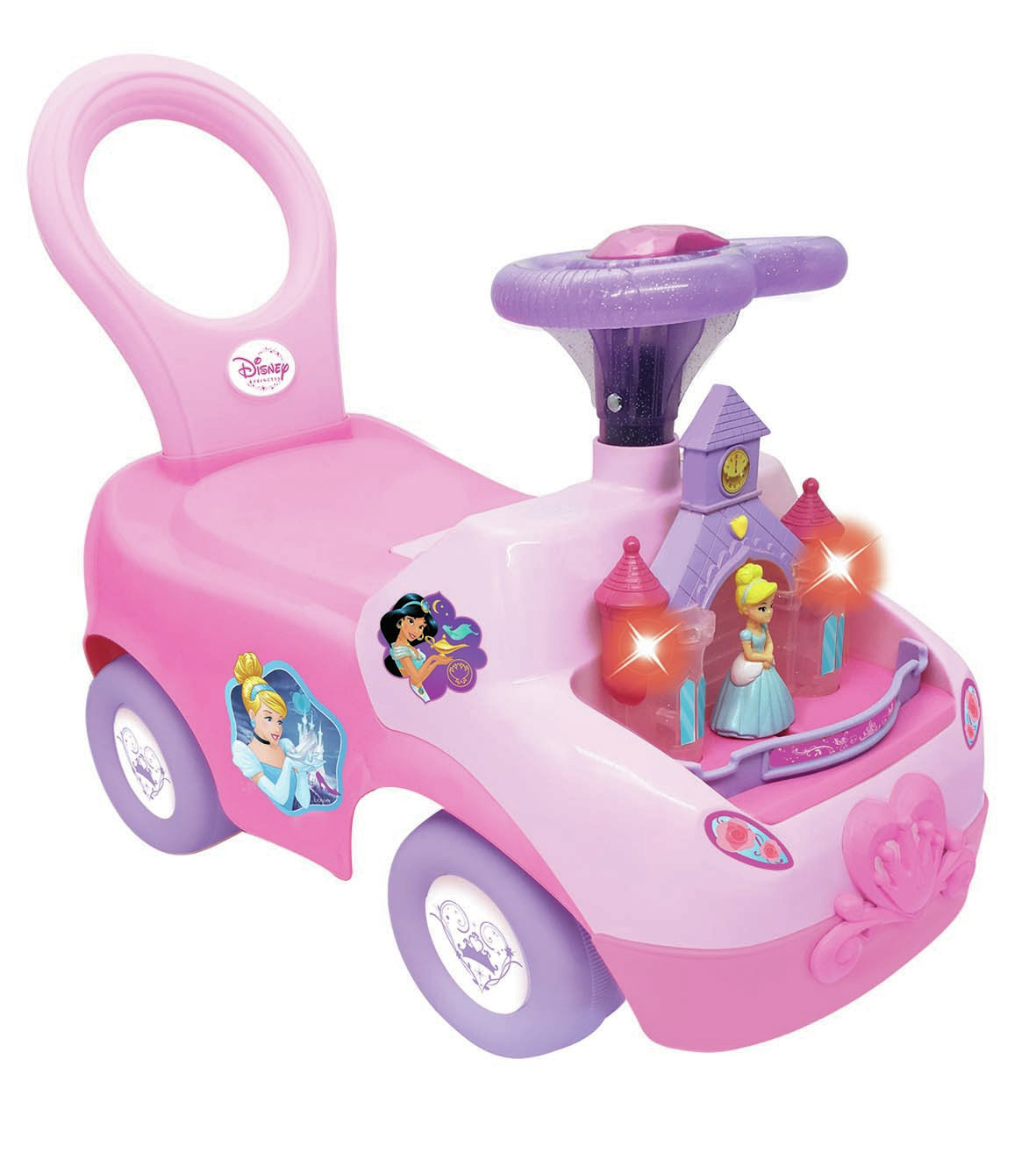 Kiddieland: Magical Castle Activity Ride-On - Disney Princess image