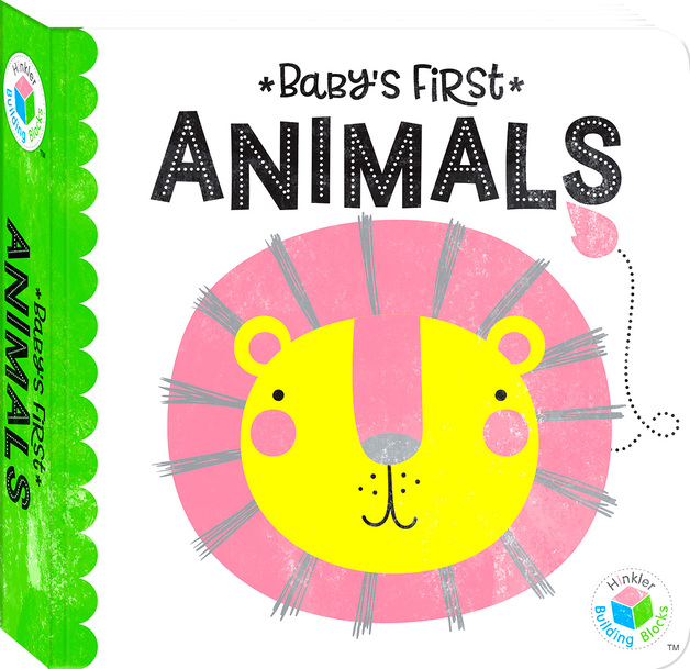 Building Blocks: Neon Baby's First - Animals Book