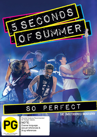 5 Seconds of Summer: So Perfect on DVD