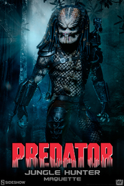 Predator: Jungle Hunter - Maquette Statue