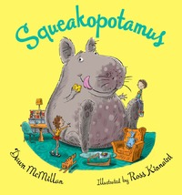 Squeakopotamus by Dawn McMillan image