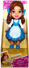 Disney Princess: My First Mini Toddler Doll - Belle (Blue Dress)