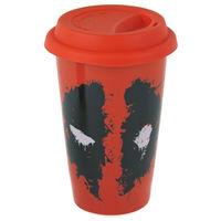 Marvel: Ceramic Travel Mug - Deadpool