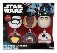 Star Wars The Force Awakens Christmas Ornament Set