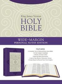Holy Bible: Wide-Margin Personal Notes Edition [lavender Plume] by Compiled by Barbour Staff