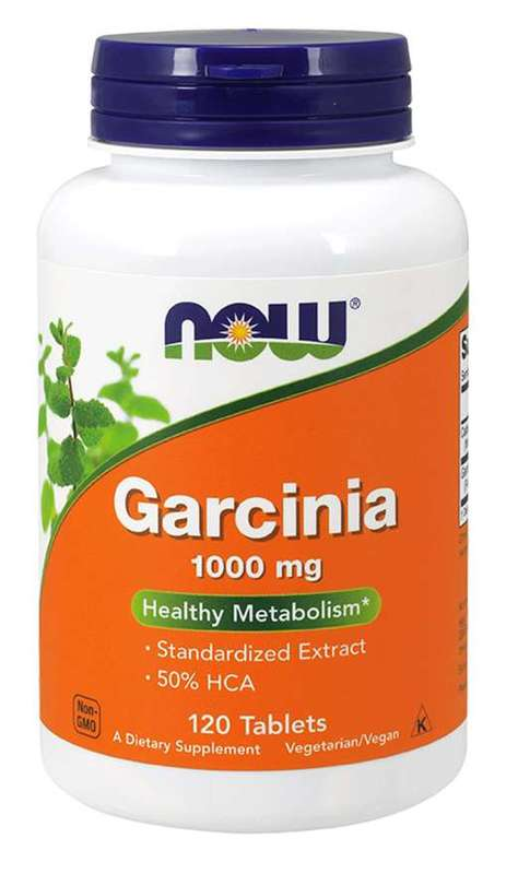 Now Foods - Garcinia 1,000mg (120 Tabs)