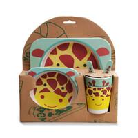 Giraffe Bamboo Meal Set